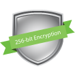Industry Standard 256 Bit Encryption